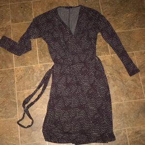 Gap woman purple/ grey dress size xs